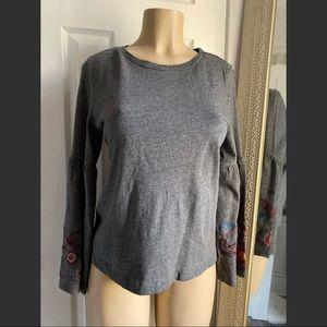 Loft Grey  long sleeve sweater size M